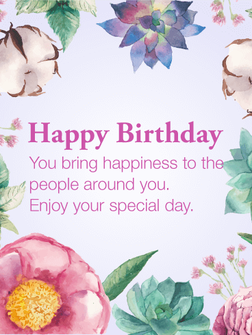 40 most wonderful happy birthday wishes greeting card images 40 most beautiful happy birthday wishes card images m4hsunfo Gallery