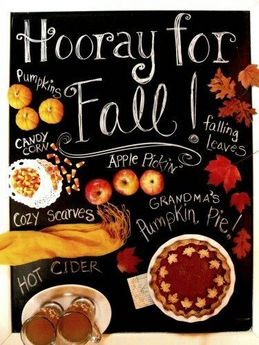Hooray For Fall Happy First Day Of Fall 2016 Greeting Card