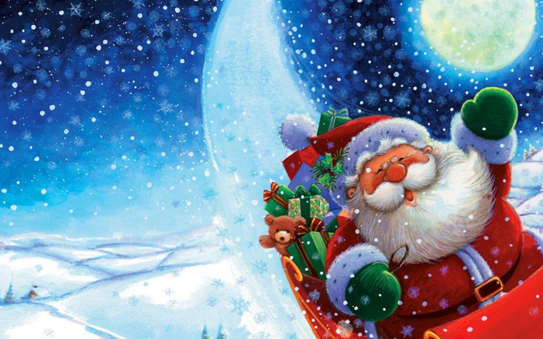 Beautiful Christmas Santa Claus HD Wallpapers Free Download Pictures Desktop Backgrounds Funny Photos For Event
