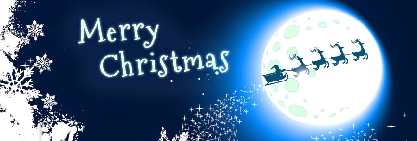 Merry Christmas Greeting Facebook Cover Picture - Funnyexpo