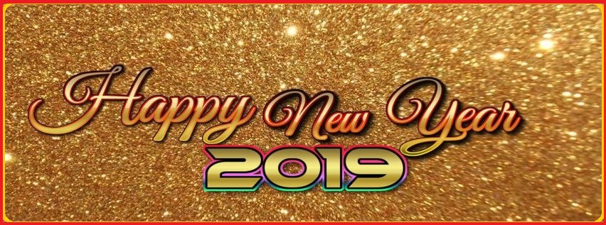 latest beautiful happy new year 2019 facebook cover images