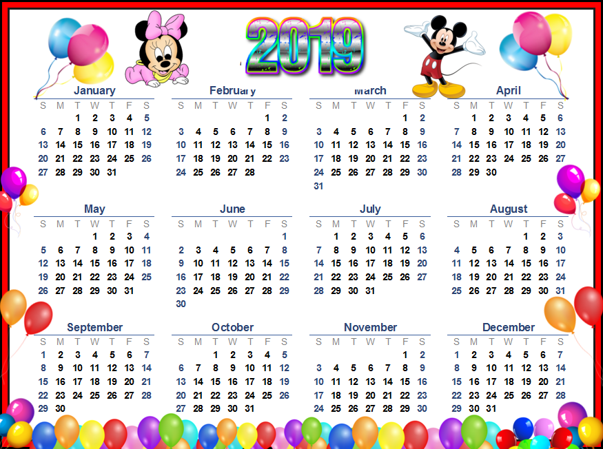 funniest happy new year 2019 calendar hd image