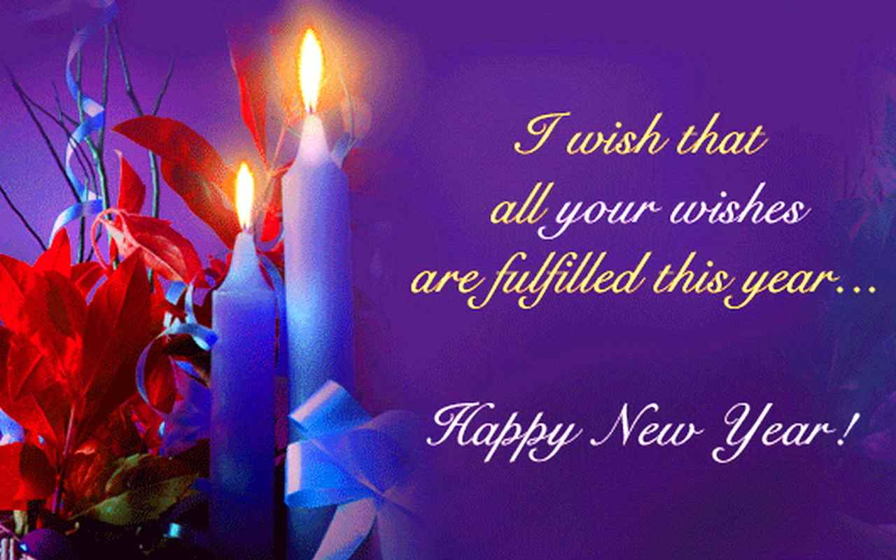 i wish that all your wishes are fulfilled this yearhappy new year
