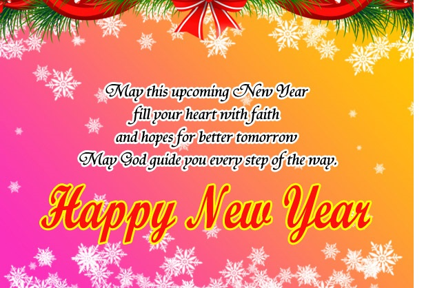 happy new year greeting image