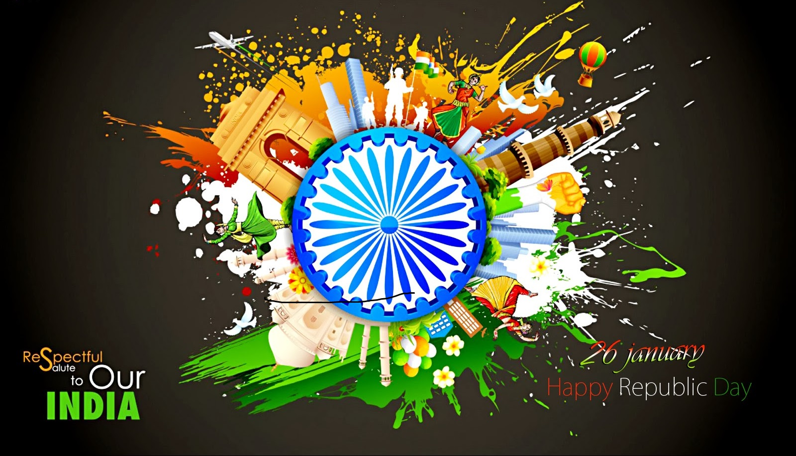 20 Most Wonderful Happy Republic Day 2019 Wishes Images Free
