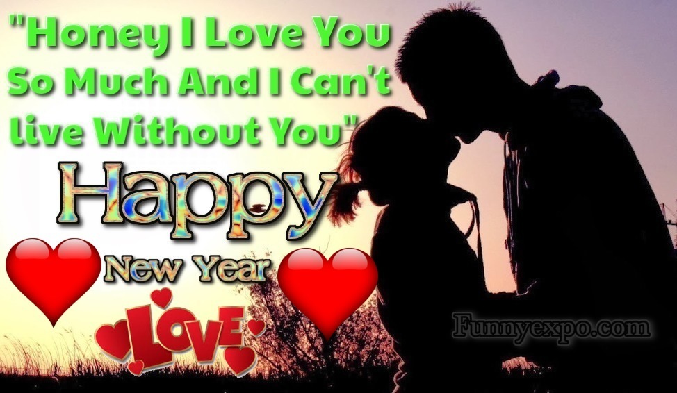 50 Romantic Happy New Year 2019 Wishes,Couple Pictures for Her & Him ...