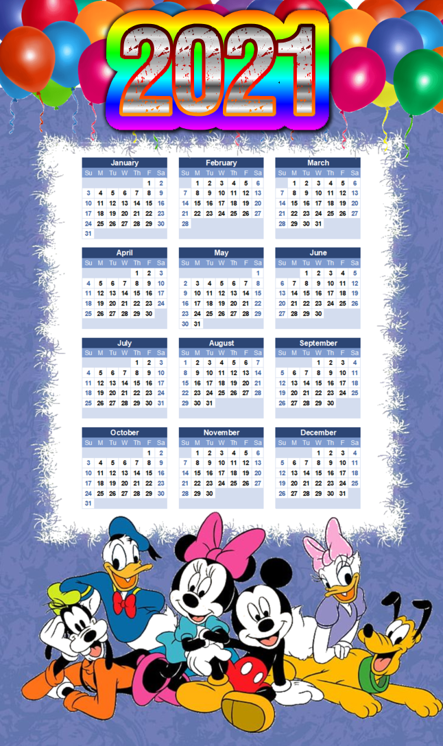 Best Happy New Year 2021 Calendar Images Free Download ...